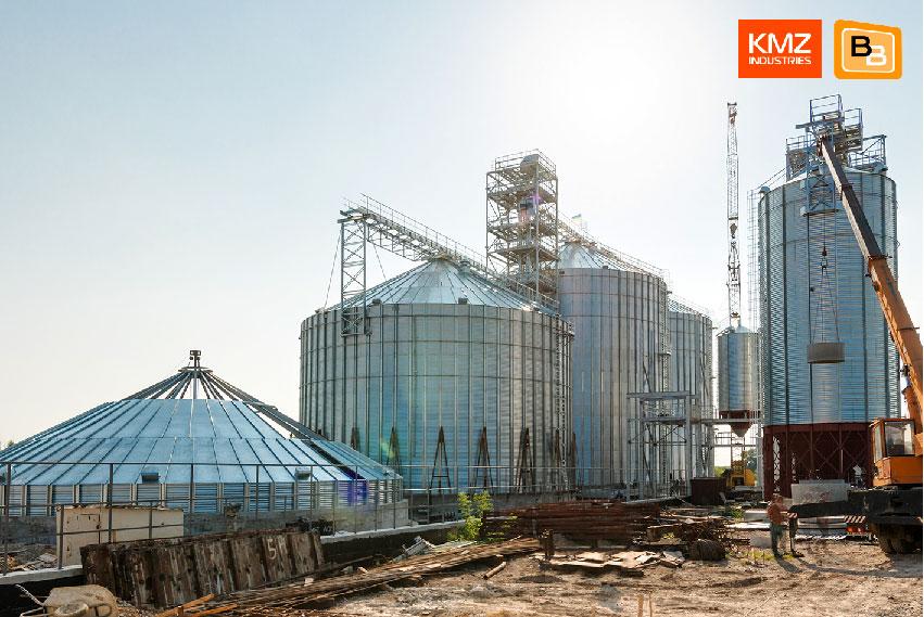Монтаж элеваторного оборудования KMZ Industries