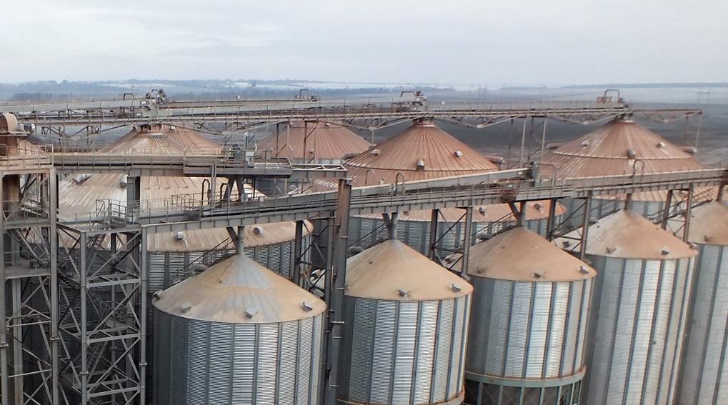 Экология Выбросы зерносушилки Без аспирации