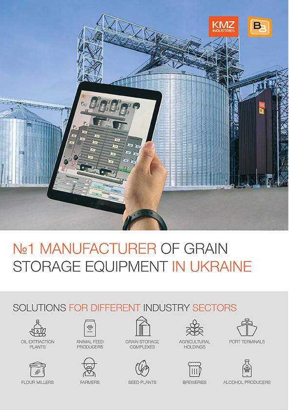 Booklet KMZ Industries Manufacture of grain storage equipment