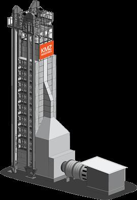 Зерносушарка ДСП виробництва KMZ Industries