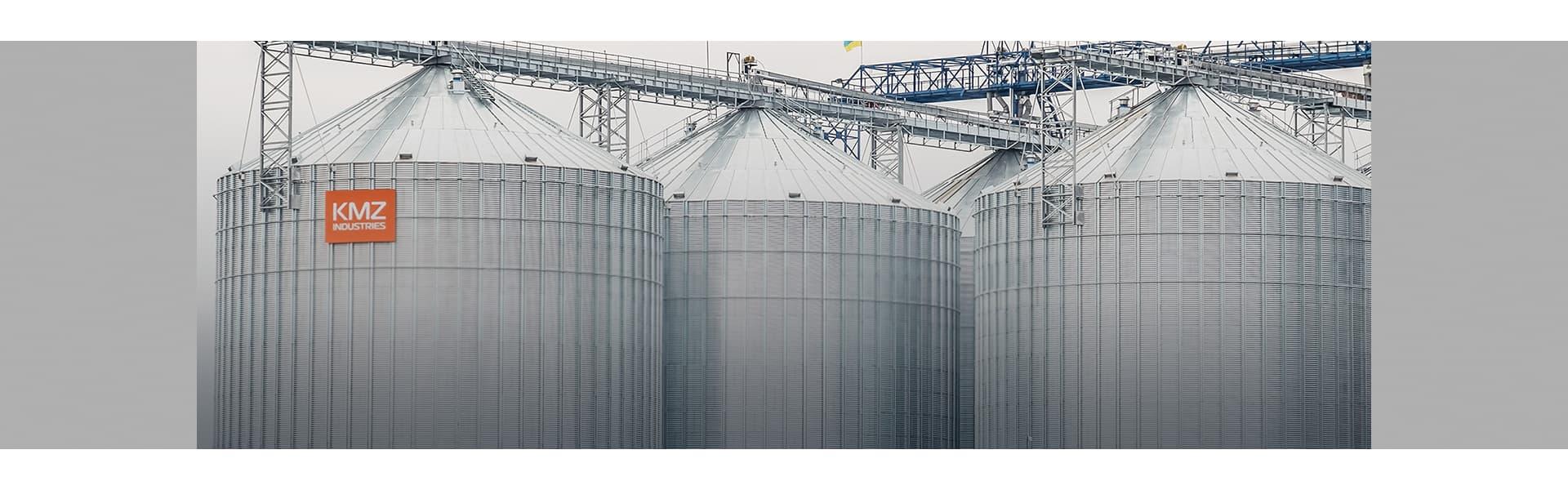 Cилоси для зберігання зерна