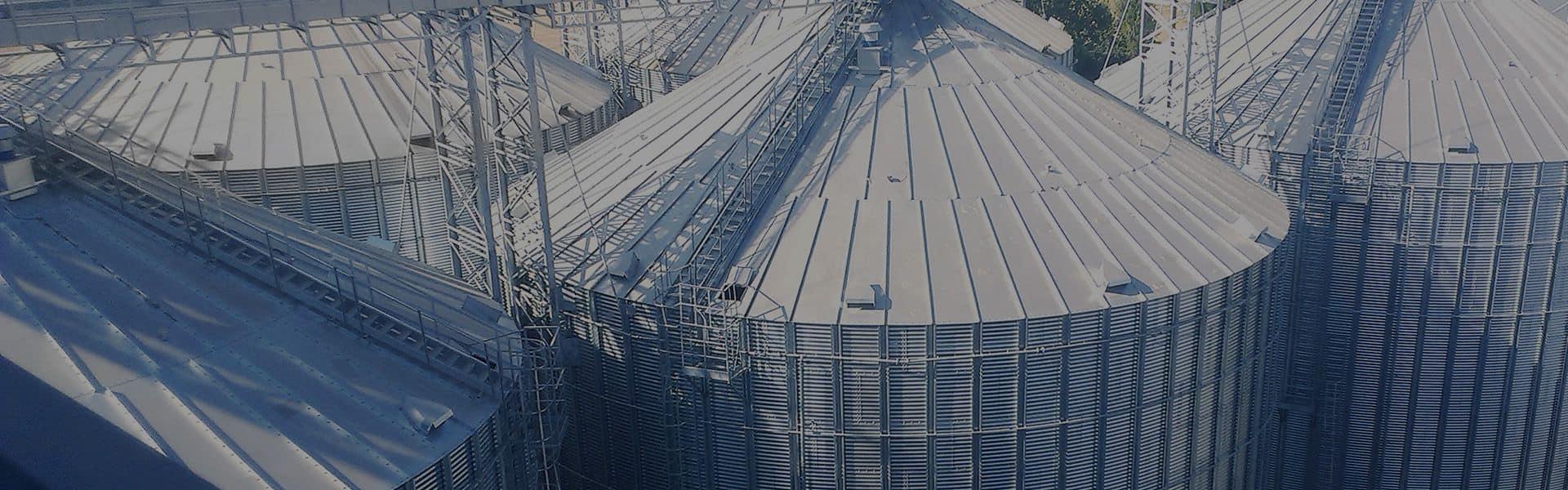 Комплексні рішення для зберігання та обробки зерна